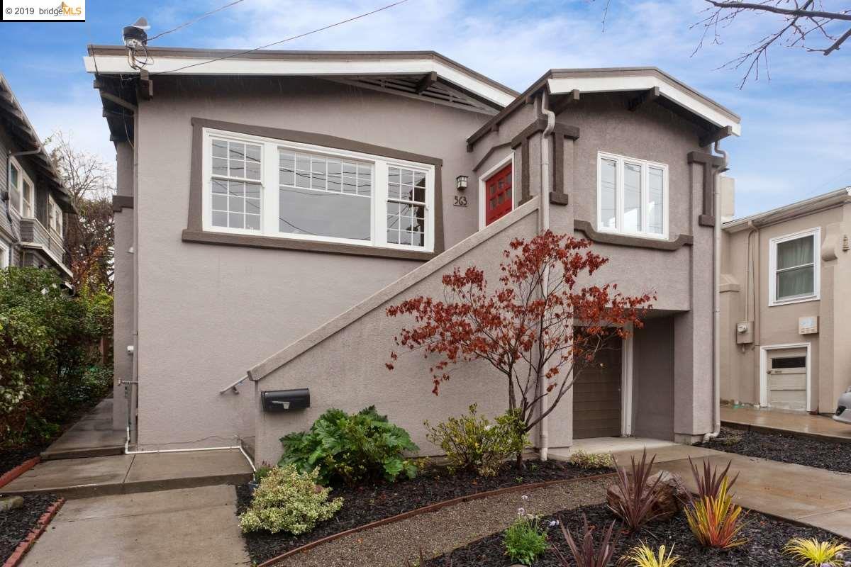 563 CHETWOOD ST  OAKLAND, CA 94610