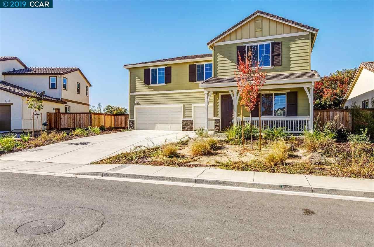 WOW! Almost brand new in Oakley! This amazing 5 bedroom 3.5 bath home with over 3500 sq ft of living space built in 2017 has so many features you won't want to miss it! Wonderful floor plan including open kitchen w/ breakfast bar, gas stove, built microwave and walk in pantry. Full bedroom and bathroom on first level, spacious loft upstairs, separate laundry room, large master suite w/HUGE master closet, bigger than a small studio in San Francisco! The backyard is a blank slate and ready for your spring plans! Large side yard that could potentially be RV or boat parking. Wonderful location, short 14 minute drive to the NEW Antioch E-BART station, minutes to adorable downtown Oakley, shopping, restaurants, Delta and more!