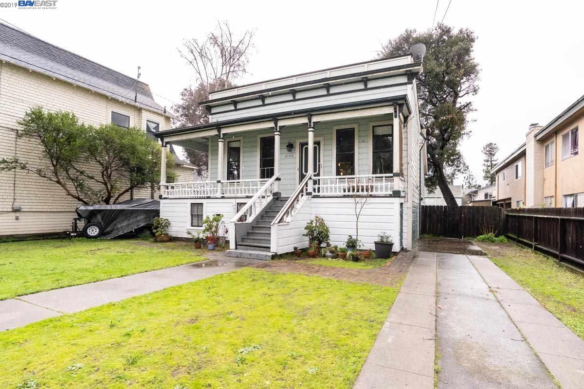 One of Alameda's Oldest Victorians - Circa 1870 Farmhouse. This is an opportunity to create a magnificent, one-of-a-kind home. Full unfinished basement w/ over 1500 sq ft. per appraiser. On a double sized lot, 9000 sq ft with room for expansion below and possibly in the rear it is a dream come true for those looking to refurbish and make their own mark on a property. A great address, a short walk to Park Street shops, theater, fresh produce, ice cream and more and a location convenient to public transportation make it truly desirable.
