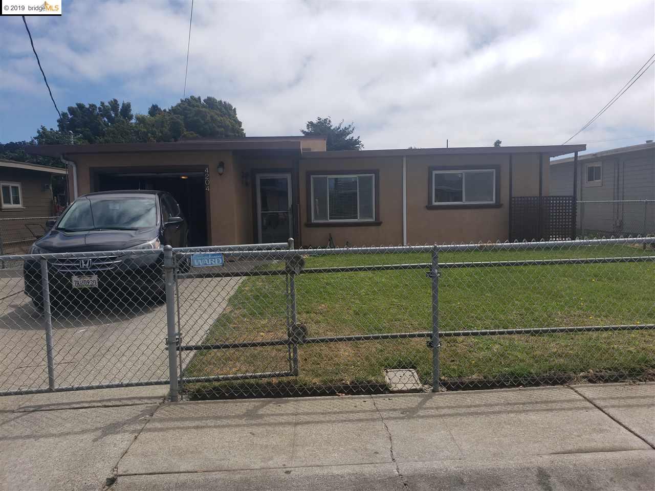 4204 JENKINS WAY, RICHMOND, CA 94806