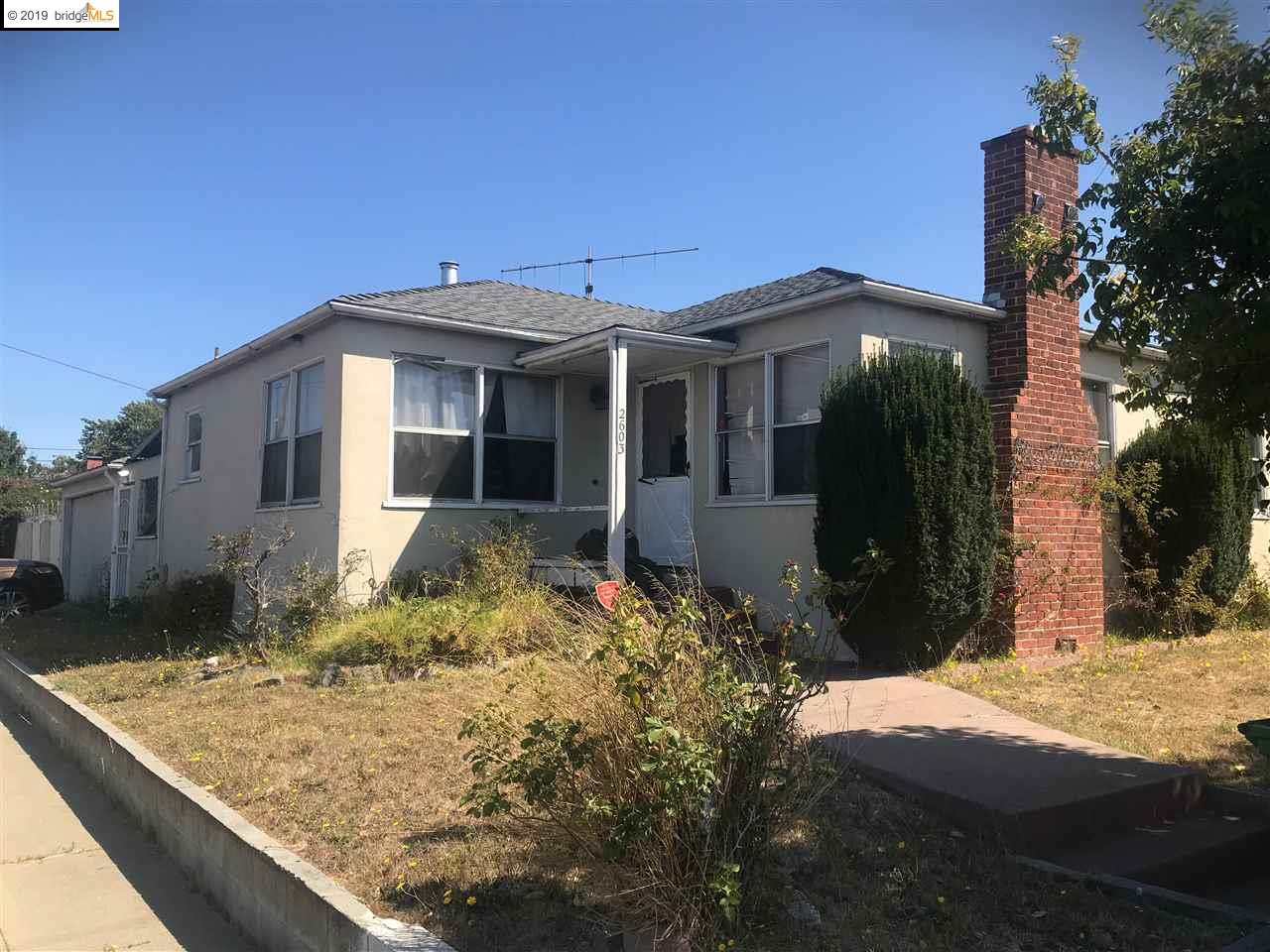 2603 MCBRYDE AVE, RICHMOND, CA 94804
