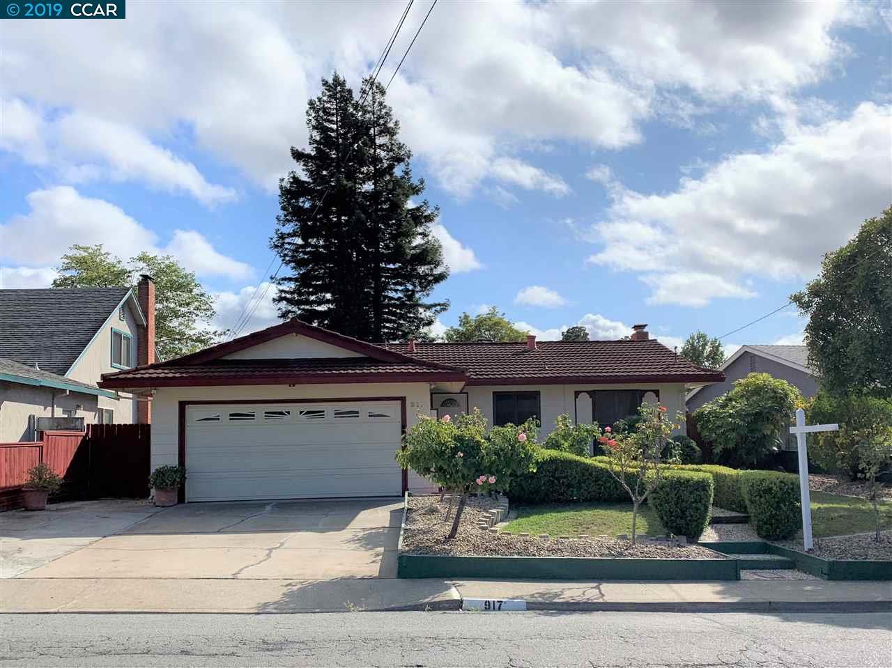 917 Tara Hills Drive Pinole, CA 94564