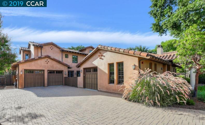 Located in the Hansen Lane Estates, this beautiful home was built to meet the highest energy-efficient & environmental standards including owned SOLAR & incredible aesthetic amenities. The grand entrance welcomes you w/2 outdoor courtyards complete w/fireplace & casita w/wet bar, full bath & optional gym. Highlights include a down bedroom & full bath, bamboo flooring & surround sound. The stunning chef's kitchen is complete w/a Wolf gas range & microwave, Subzero built-in refrigerator, granite, w/custom backsplash, island & walk-in pantry. The spacious master features vaulted ceilings, walk-in closet & French doors lead to the balcony w/views of the hills. The spa-like master bath features a spa tub, double sinks, & Travertine walk-in shower. Enjoy entertaining in the spectacular backyard which offers a sparkling pool & spa, built-in BBQ & refrigerator. Conveniently located near parks, shopping & within the top-rated SRV School district. Backs to Iron horse trail/walk to downtown.