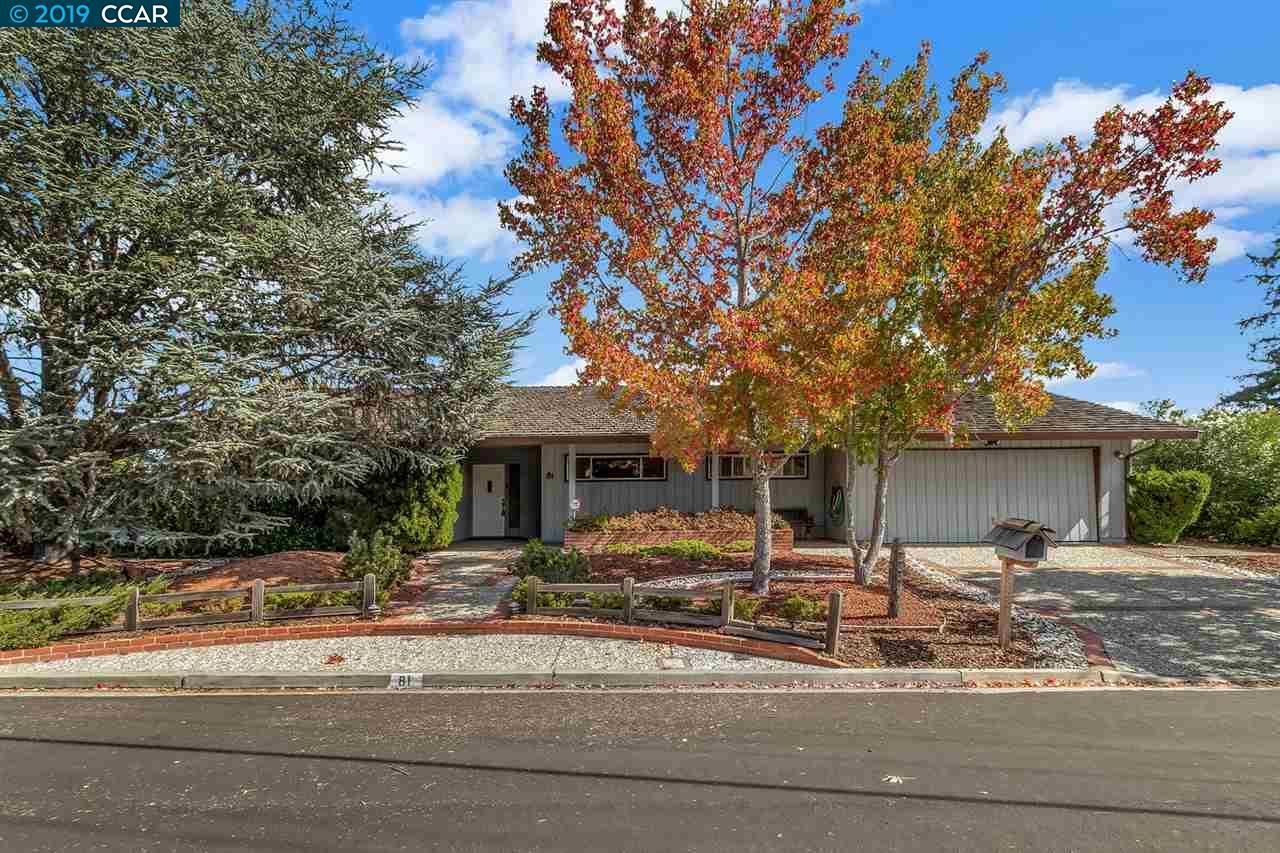81 Sullivan Drive Moraga, CA 94556-1209