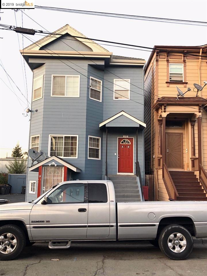 826 20th St. Oakland, CA 94607