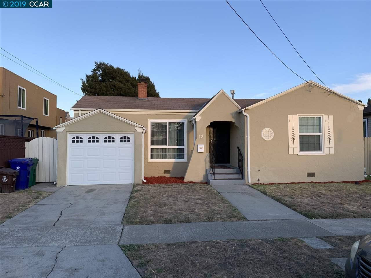 212 S. 22ND ST,, RICHMOND, CA 94804