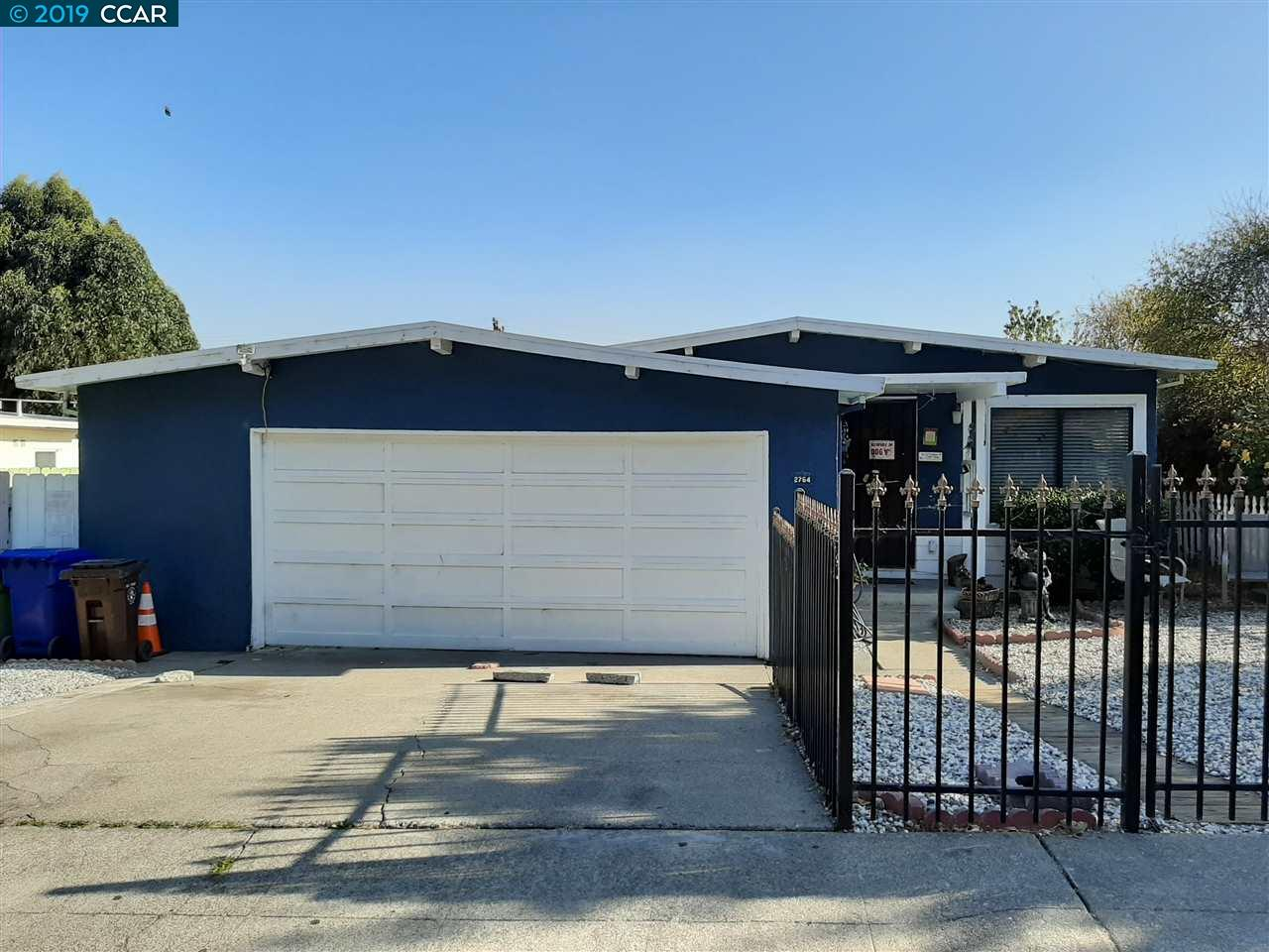 2754 JO ANN, RICHMOND, CA 94806
