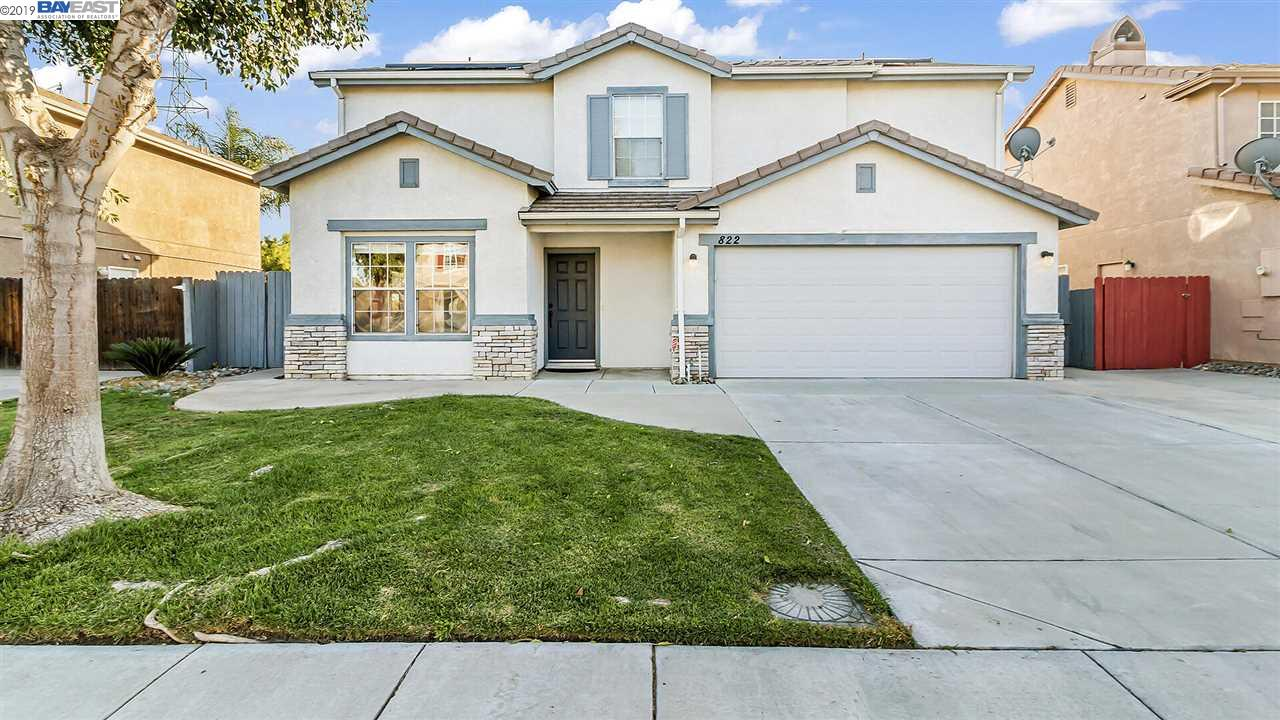 Detail Gallery Image 1 of 1 For 822 Willow Park Lane, Tracy, CA 95376 - 4 Beds | 2/1 Baths