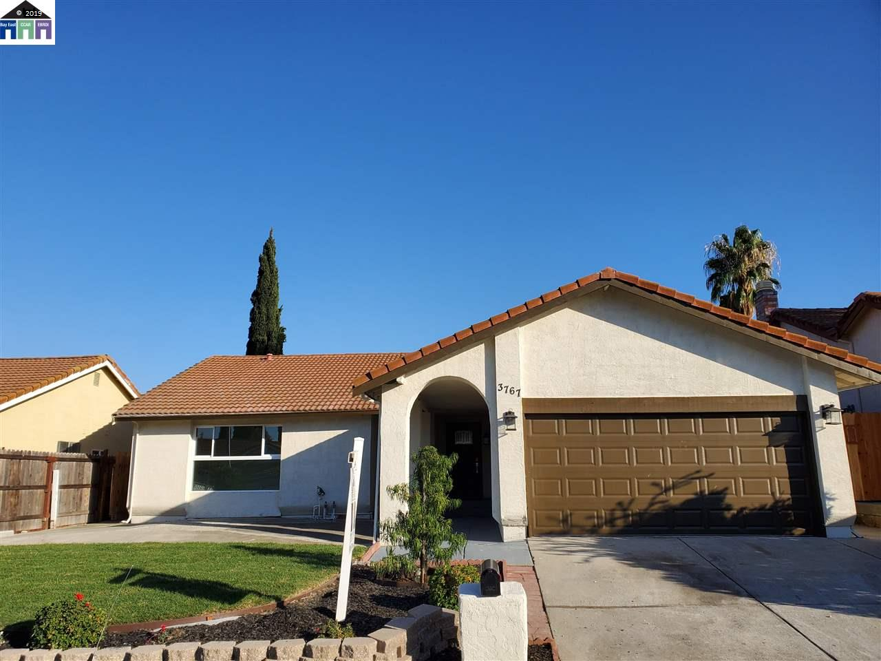 3767 Park Place Dr. Pittsburg, CA 94565