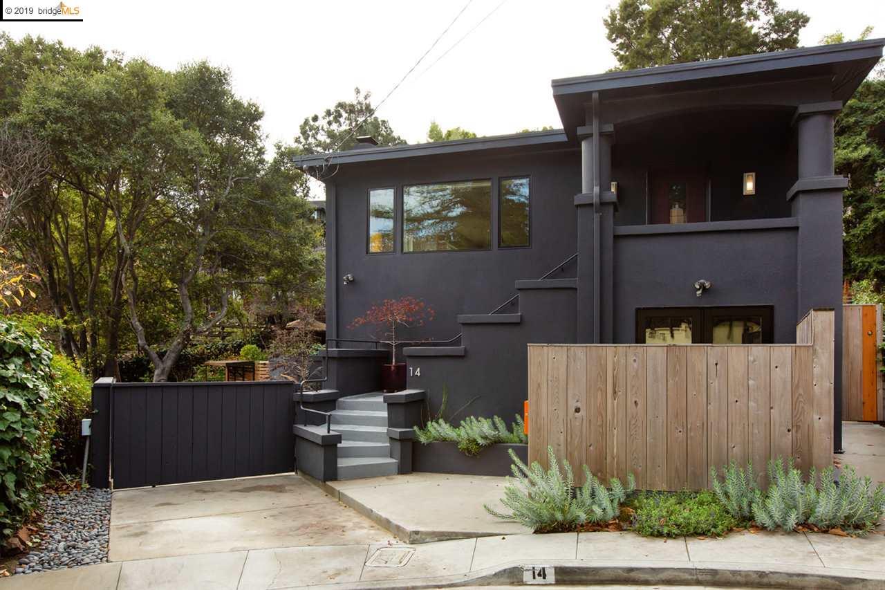 14 Roslyn Ct Oakland, CA 94618