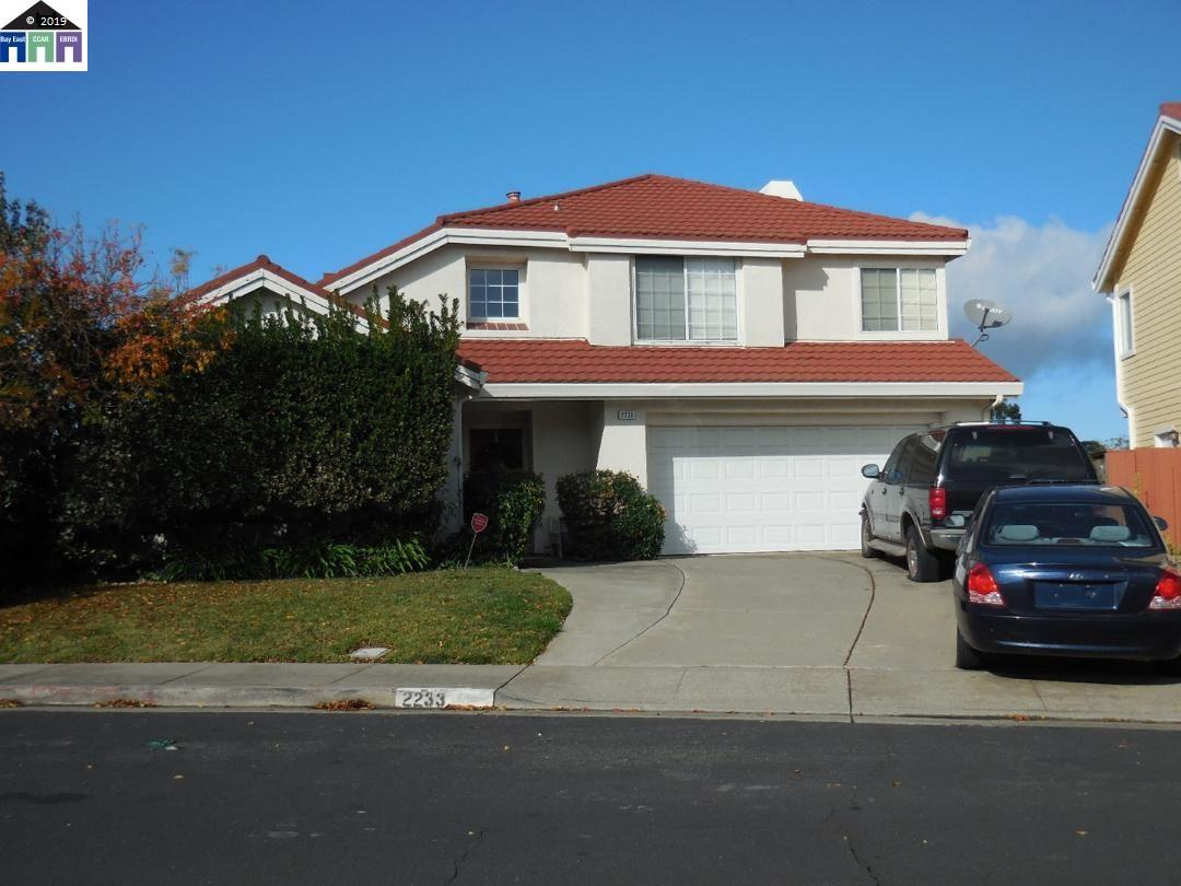 2233 HIGHGATE DR., RICHMOND, CA 94806