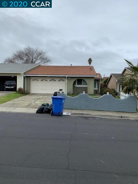 535 Harvey Way, BAY POINT, CA 94565