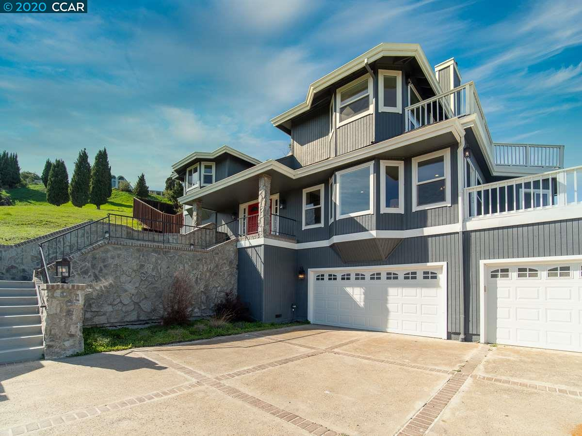 Fabulous in Lafayette! Top of the world with sweeping views of Mt. Diablo and the hills. Views from almost every room in the property! Private and secluded you will feel like you have stepped out of the city and into your own slice of heaven! This spectacular home boasts so many features including 5 bedrooms 3.5 baths, almost 5000 sq ft of living space, gorgeous spiral staircase, custom chef's kitchen with center island and high end appliances, spacious master suite with fireplace, soaking tub and custom shower. Bonus room downstairs has tons of potential, completely finished and ready to be an in-law, au pair or possible rental. Don't miss this beauty! Open House Sunday 3/1/2020 12-3PM