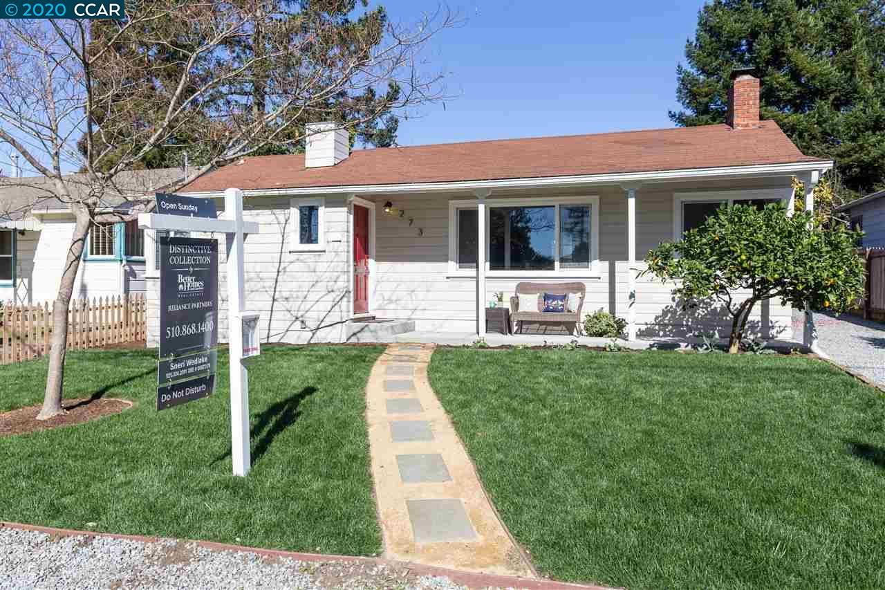 273 Lake Kensington, CA 94708
