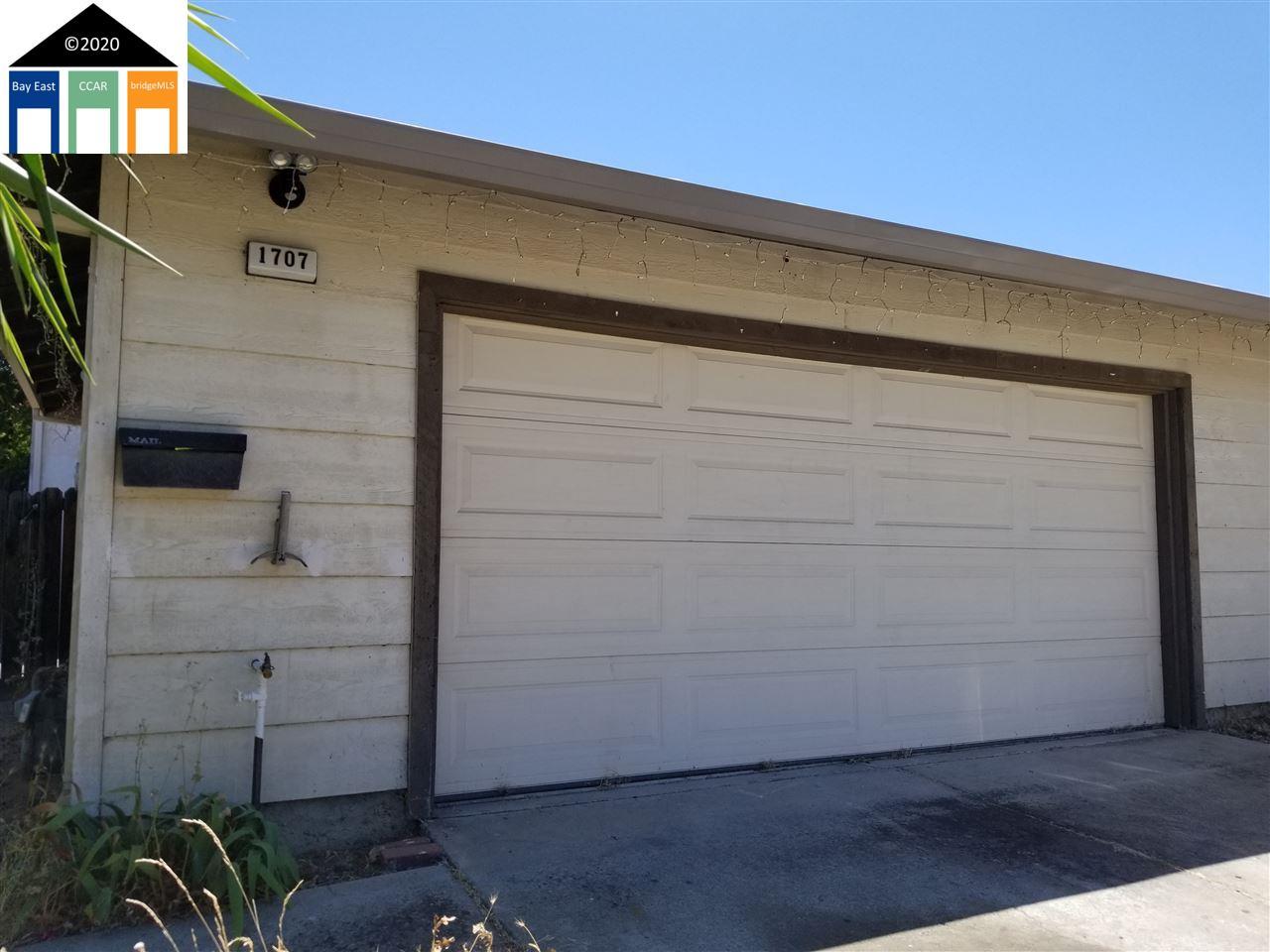1707 Springwood, ANTIOCH, CA 94509