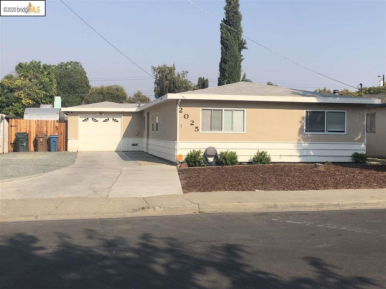 2025 Crestwood Dr, ANTIOCH, CA 94509