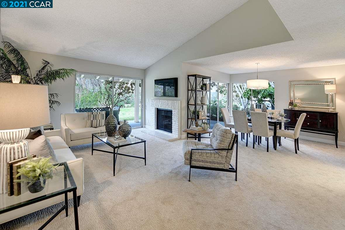 Detail Gallery Image 1 of 1 For 2607 Saklan Indian Dr #4,  Walnut Creek,  CA 94595 - 2 Beds | 2 Baths