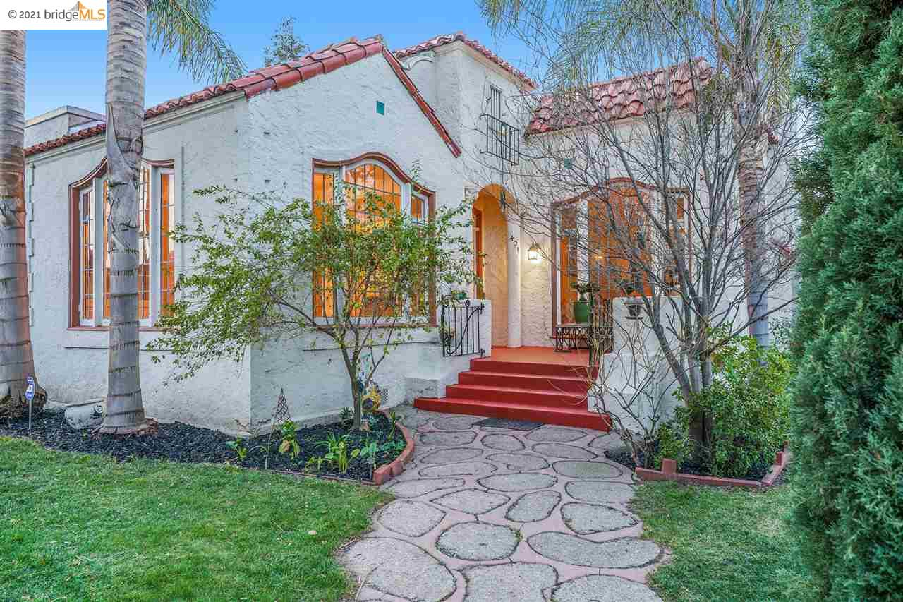 In the heart of the Delta, glows this historical 1928 Spanish Revival Home!!! The homes architecture, built in features certainly should pique your curiosity.  True 4 bedroom home could be easily converted into 6.  Plenty of rooms to make yourself comfortably cozy whether it be the Breakfast Nook or Formal Living with Fireplace. Hardwood Floors thru out. Close to the Delta, with shops, restaurants, and coffee shops!