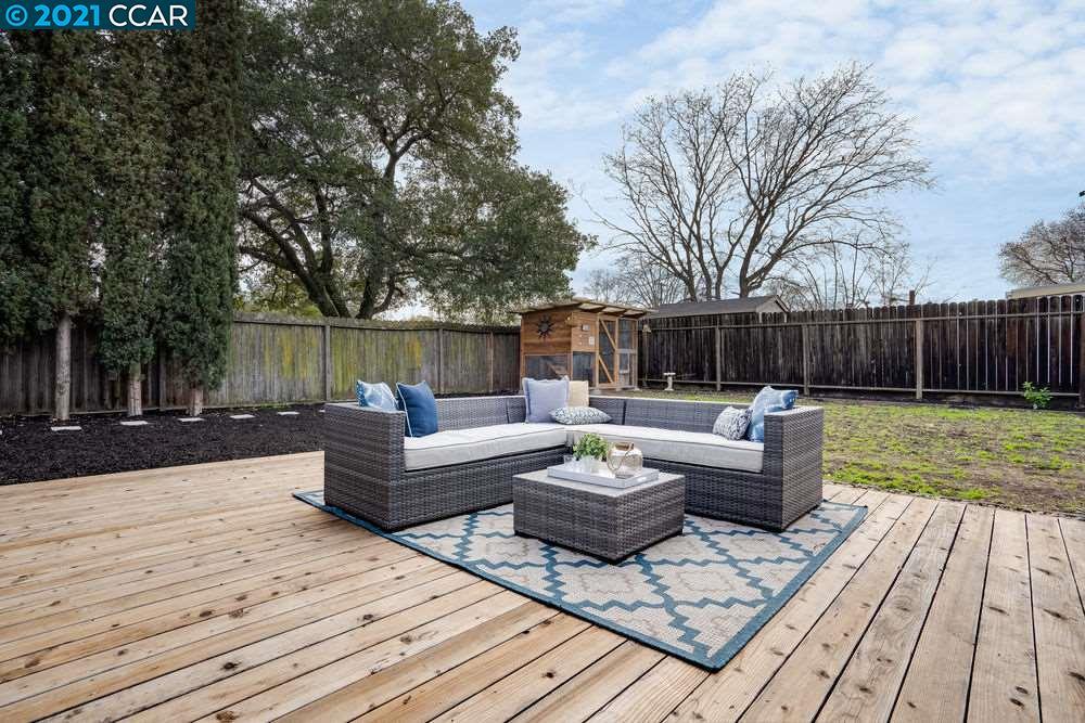 Expansive Flat Backyard