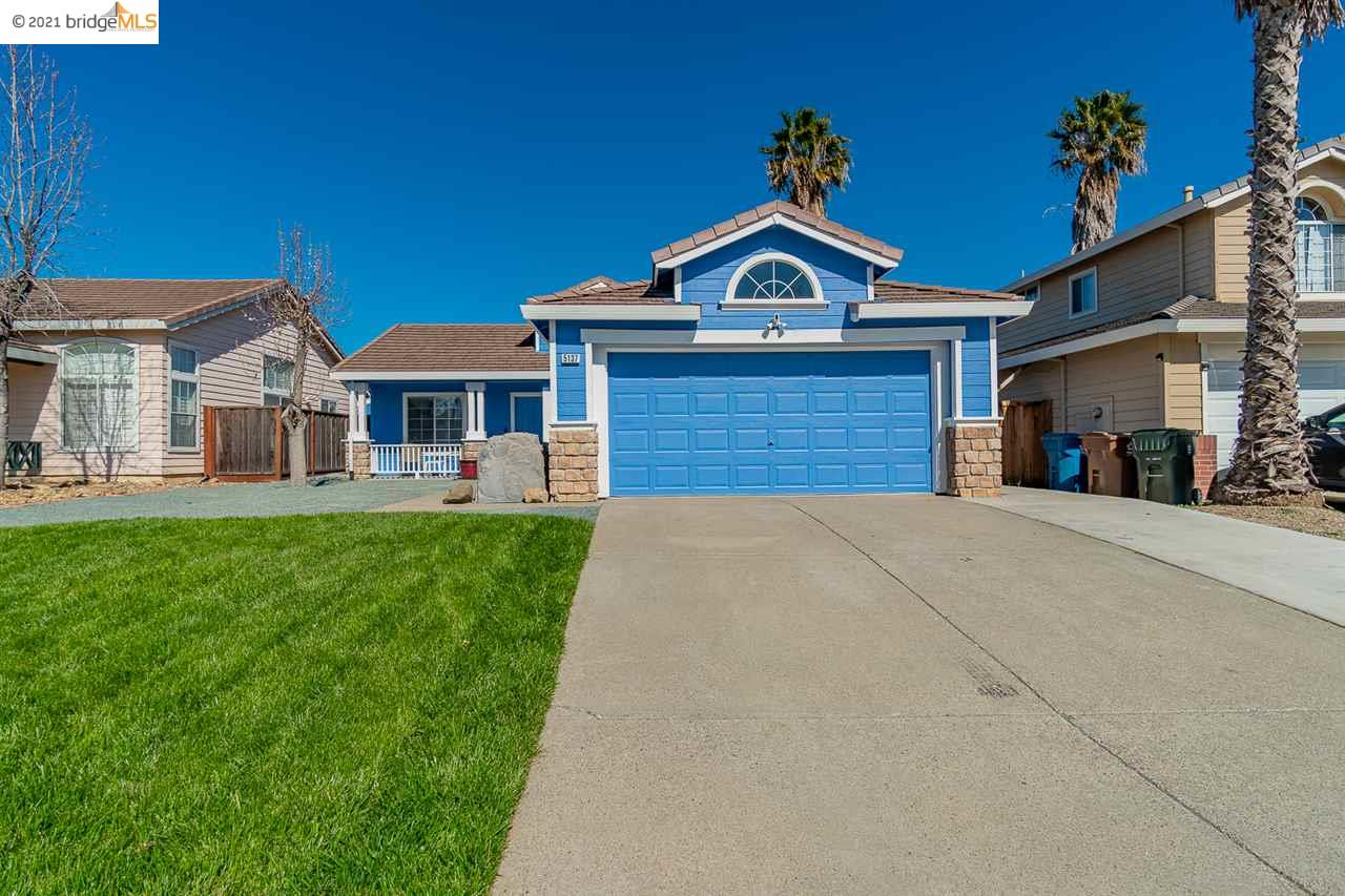 Adorable home recently updated with modern touches throughout! Kitchen features Quartz counters, updated cabinets and new appliances. Wood floors & new interior / exterior paint.  Tall Ceilings. Family room with wood burning fireplace.  Beautiful landscaped front & backyard. Great Antioch location!