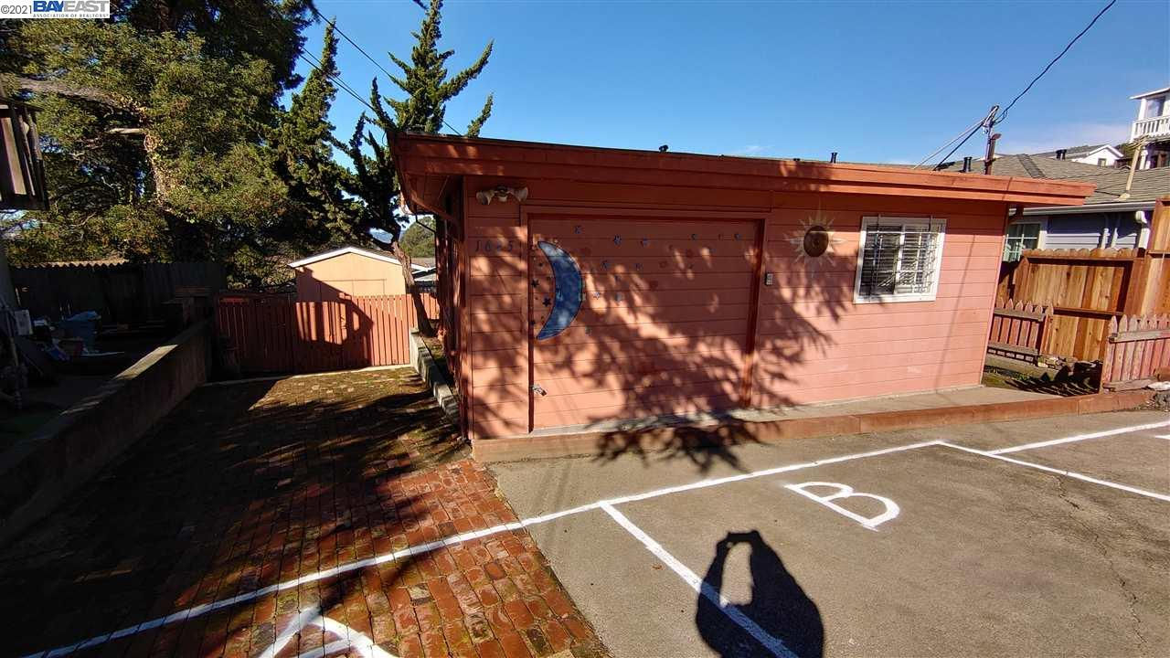 """DO NOT miss out this home with a great potential (two separate units). (Garage Converted - Permit Is Unknown) with separate entries. 1 Finished Built Large Storage Shed. Live in one and rent the other. Conveniently located near 80 freeway, shopping center. Recently remodeled and ready for move-in. Seller preferred to sale """"AS-IS""""....."""