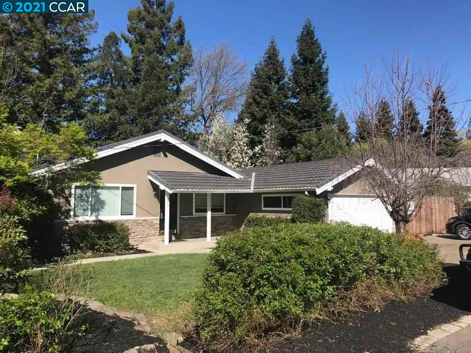 Close to downtown Danville, freeway and trails. Quaint ranch style home on 1/3 acre on private lane. Freshly painted. Large yard with mature trees. Room for pool, renovation or possible addition.