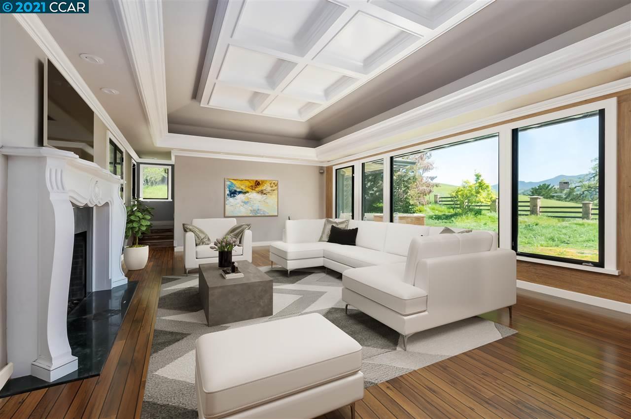 Living Room - Virtually Enhanced