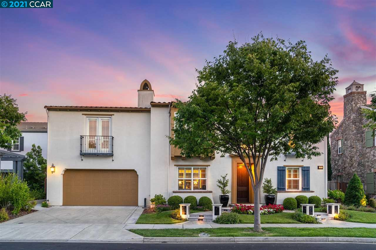 Beautifully upgraded home in Florentine neighborhood of Gale Ranch.Offers 5 bdrms, all w/ensuite baths, 1 half bath, oversized bonus room,& a dwnstrs bdrm w/full bath. Open floor plan offers formal living & dining rooms. Highlights include arched doorways, wood detailing throughout, & an interior courtyard w/fireplace. Gorgeous wide plank hardwood flooring runs the length of the main level. The chef's kitchen offers granite countertops, stainless steel appliances, an abundance of storage, & an oversized center island w/breakfast bar. The adjoining bright & airy family room w/gas-burning fireplace overlooks the spacious backyard, creating the perfect place to unwind after a busy day. Light & bright master suite offers high ceilings & plantation shutters, leads to a spa-like master bath w/split vanities, spacious walk-in closet, gorgeous jetted tub. Private sun-filled backyard features an oversized patio. Short walking distance to SR Valley Schools, close to shopping, parks, & dining.