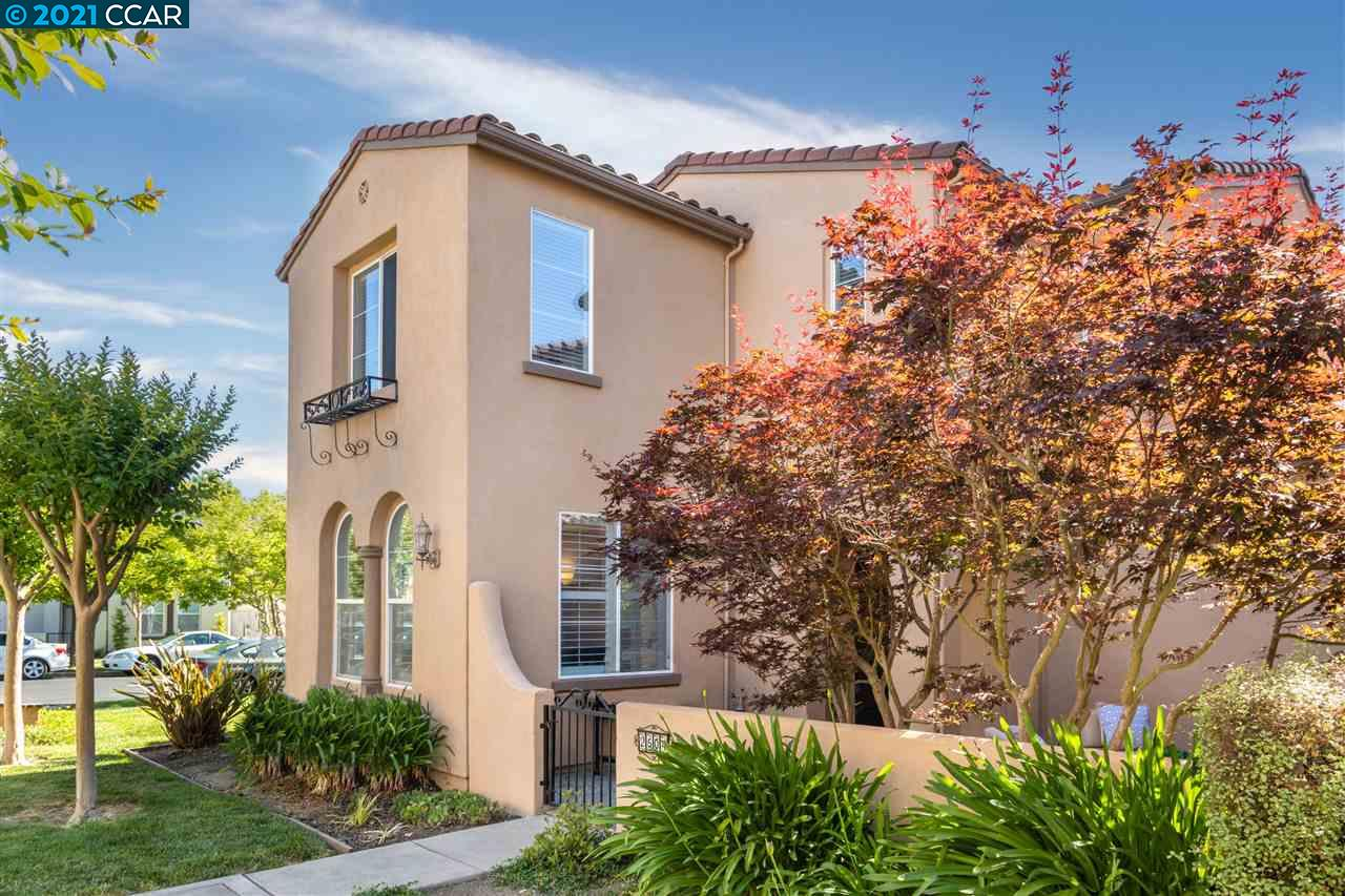 This exquisite townhome is located in the highly desirable Wisteria at Gale Ranch neighborhood. The floor plan flows beautifully throughout with a welcoming front patio and into your open living room and dining area with a second patio perfect for outdoor dining. The gourmet kitchen features spacious granite countertops, built-in stainless steel appliances, breakfast bar, pantry and sunny breakfast nook. Venture upstairs to your spacious primary suite with a large mirrored walk-in closet and ensuite bath with dual vanities and separate walk-in shower. This flexible upstairs layout features an additional bedroom being used as a loft space perfect for your home office or bonus room. Plus two spacious additional bedrooms with a shared full bath. Throughout the home you'll find stylish details such as hardwood floors, crown molding and plantation shutters. This spectacular townhome is conveniently located near parks, recreation, shopping, dining & within the top-rated SRV School district.