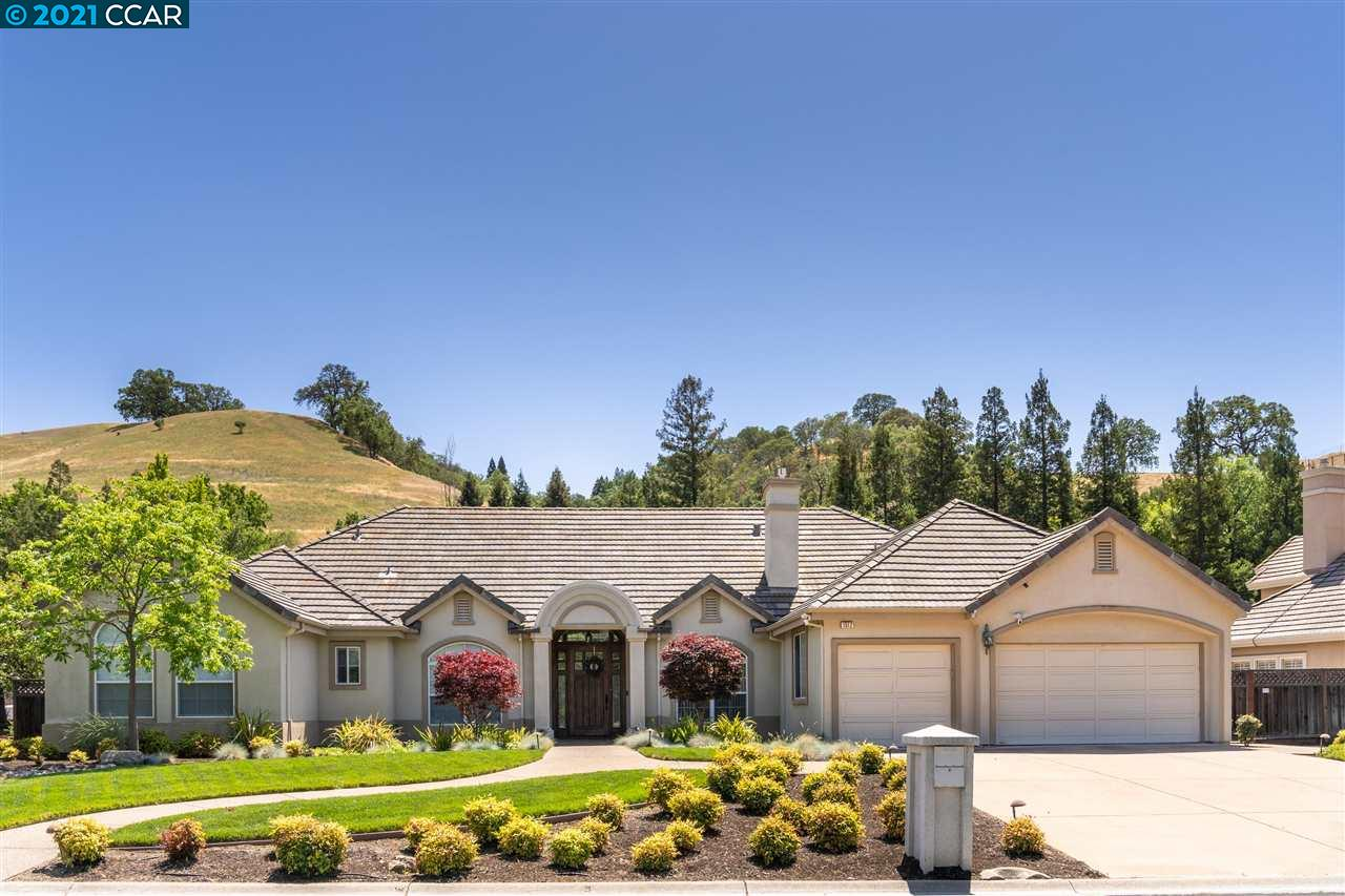 Upgraded single-level home with detached casita located in the beautiful neighborhood of Stonebridge Estates. The open floor plan offers 4 bedrooms plus an office with 3 full bathrooms. The beautifully appointed gourmet kitchen features custom cabinetry, stainless steel appliances, and a center island. The expansive master bedroom features a gas fireplace and views of the backyard. The spa-like ensuite features 2 vanities, glass-enclosed shower and a soaking tub. The guest casita is approx 500 sq ft and includes a full bathroom and kitchenette. The half-acre lot includes a charming patio with a large lush lawn area including a play structure and upper viewing area perfect for a fire pit. This fabulous home is conveniently located close to shopping, dining, trails, and top-rated schools. This is an amazing opportunity to live in the prestigious community of Stonebridge Estates.
