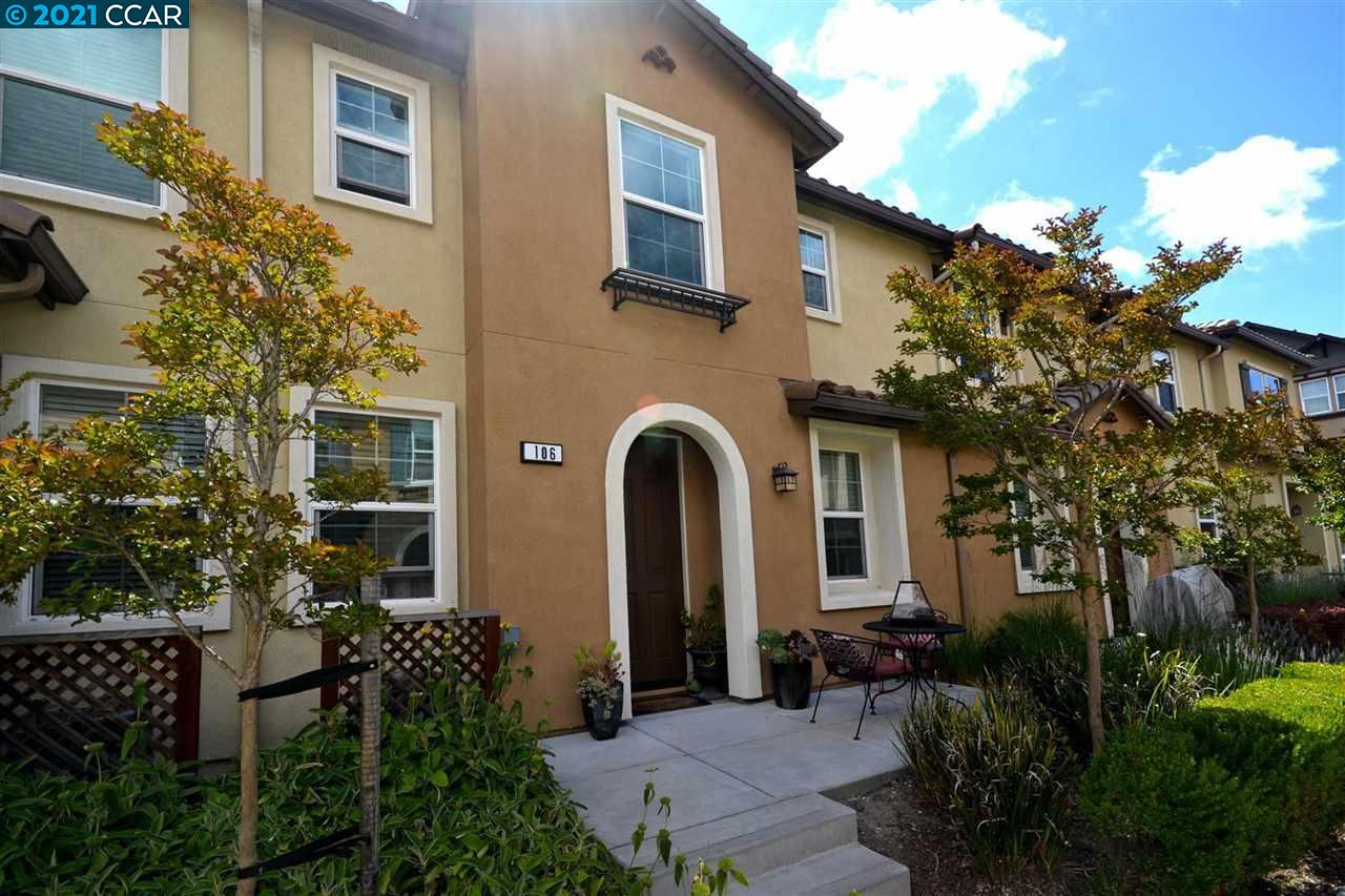 Amazingly Well Kept 3 Bed 2.5 Bath Townhouse Like New! Live In The Desirable Gated Community Of Abella Paseo.  Minutes From Shopping, Contra Costa College At Only 5 Minute Walk And Minutes From The Bart Station.  This Property Offers A Granite Kitchen With Stainless Steel Appliances, Gorgeous Engineer Flooring And High End Carpet In Bedrooms. Refrigerator, Washer And Dryer Are Included In The sale. Move In Ready!