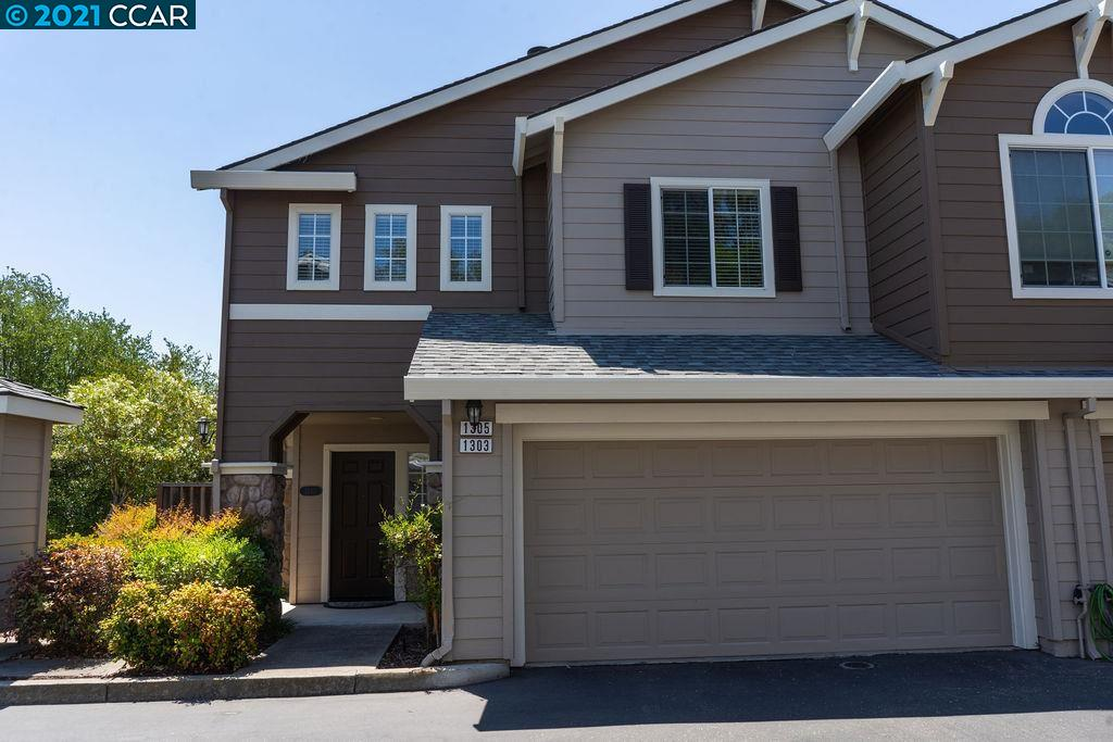 Welcome home to peaceful and convenient living! This charming, natural light filled, open concept end unit condo features 3 bedrooms, 2.5 bathrooms, new stainless steel kitchen appliances, high vaulted ceilings, hardwood floors, dual pane windows, newer A/C unit,  attached 2 car garage, private lower level patio and balcony off the master suite which includes a walk in closet. Relax in the HOA amenities including sparkling swimming pool and hot tub.  Conveniently located near 680, Diablo Plaza, Windmill Farms Produce, Costco, City Center Bishop Ranch, parks, award winning schools and so much more!
