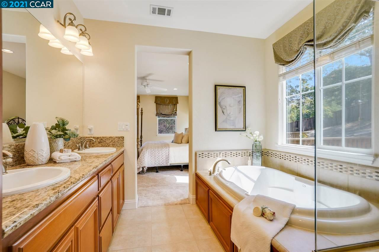 Spacious Bathroom with soaking tub