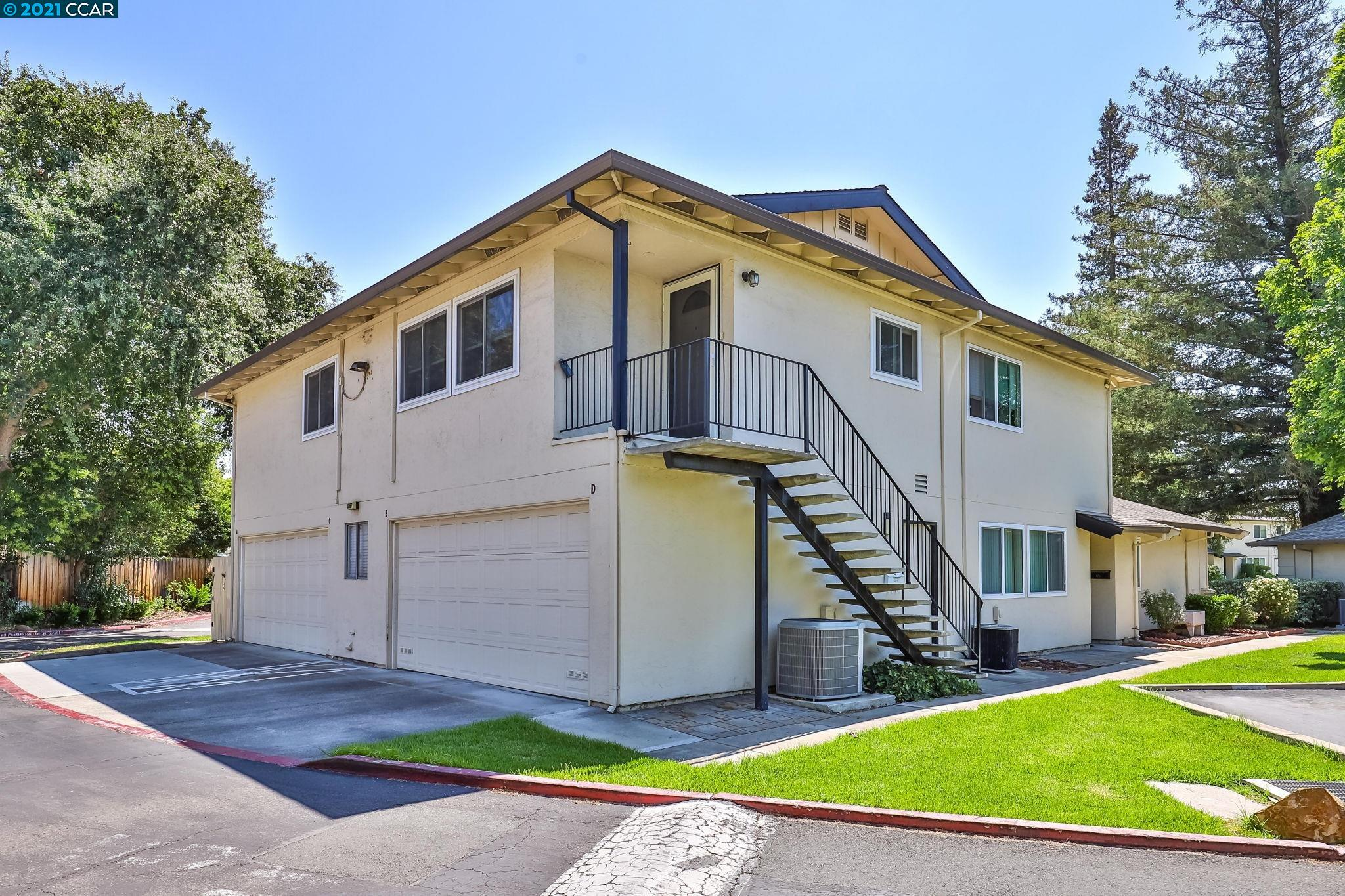 Great location convenient to shopping, restaurants, transportation and walking trails! This 2 bedroom, 1 bath condo has just been freshly painted throughout and new carpet installed in both bedrooms. The unit features central heat/air, shared garage parking with laundry and 1 deeded parking space outside. Beautiful grounds with a community pool.