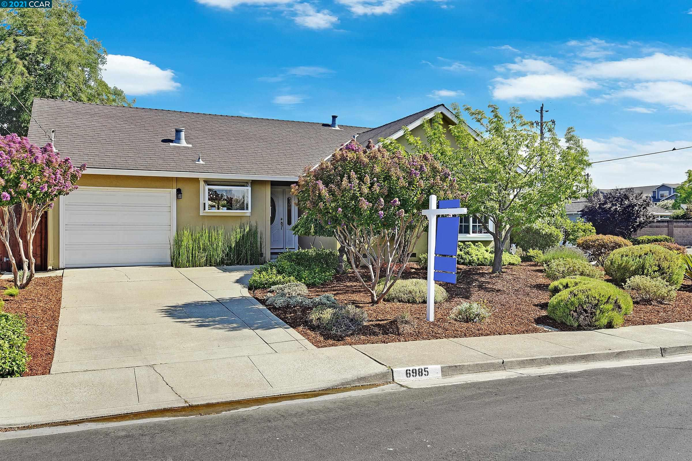Open Sat. & Sun. 1-4pm!  Charming single level home completely updated on desirable corner location in Sunny Glen, 55+ Active Adult Community, close to clubhouse, shopping center, and San Ramon Golf Club. Meticulously landscaped yard with amazing curb appeal greets you as you arrive at this lovely single family home. Family room features new carpeting, cozy wood burning fireplace with tile surround, and wood mantle. Enjoy picturesque views out to backyard oasis. Newly remodeled kitchen features breakfast bar, quartz countertops and backsplash, white cabinets, and all new appliances.  Spacious dining area adjoins kitchen and includes triple sliding glass door access out to back patio. Master bedroom features white wood paneling, walk-in closet, and views to front garden.  Gorgeous master bath boasts marble tile. quartz countertops,  and walk-in shower.   Come enjoy this great home in an active adult community with swimming pool, bocce, clubhouse and organized activities!