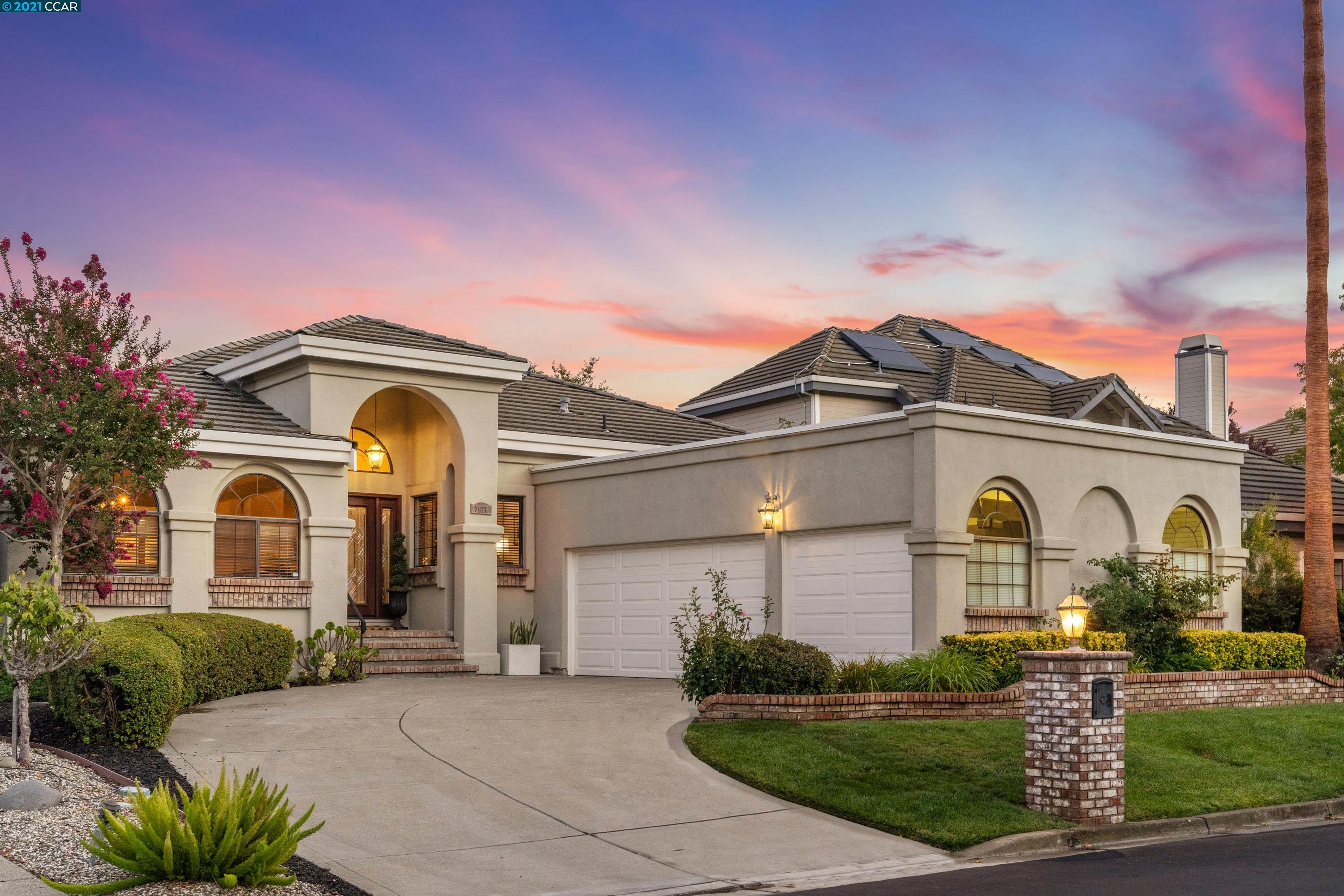 Located in the prestigious gated community of the Blackhawk CC, this stunning single lvl home sits on a premium lot overlooking the incredible Falls golf course, lagoon, hills&distant mountains. The floorplan offers large living spaces w/natural light. The family room is perfect for entertaining, w/a fireplace, bar&french doors to access the backyard. The kitchen feat.SS appliances, pantry&island w/built-in wine cooler. The home has private feat w/bdrms away from the common areas. The primary bdrm suite incl marble fireplace&ensuite bath offering a jetted tub,walk-in shower w/multiple shower heads,2sinks&spacious closet. Addl feat:living&dining room,2 large secondary bdrm,fourth bdrm converted into office w/built-in shelving,+100 bottle temp controlled wine closet,plantation shutters&custom light fixts. Bask in the private backyard w/views&enjoy BH CC living w/golf courses, club house amenities, fitness center&tennis courts.Close to parks,trails,BH Plaza&award-winning SRV schools.